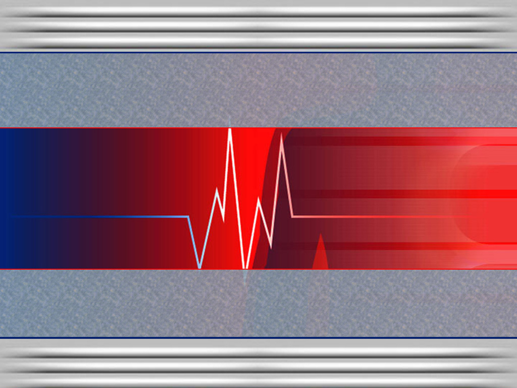 Health beat graph PPT Backgrounds