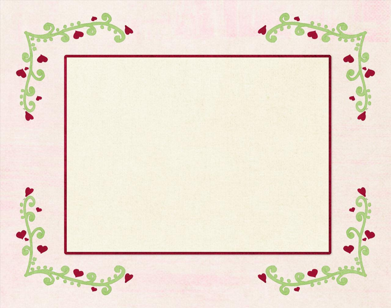 heart frame ppt backgrounds 1024x768 resolutions heart