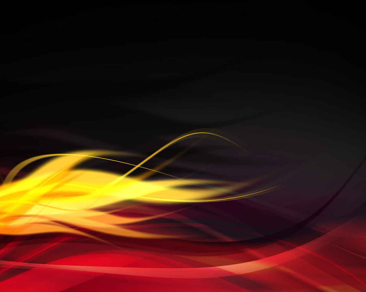 Free Hot Flames Background for Powerpoint Slides