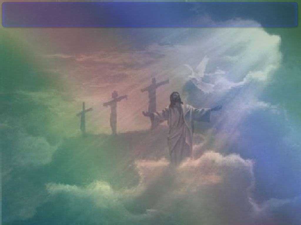 Jesus Clouds PPT Backgrounds