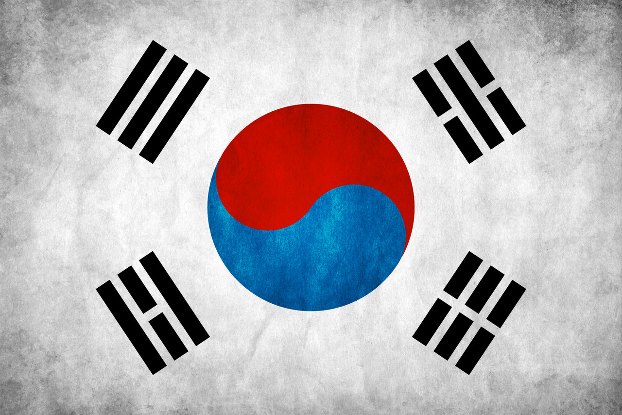 Korean Flag PPT Backgrounds