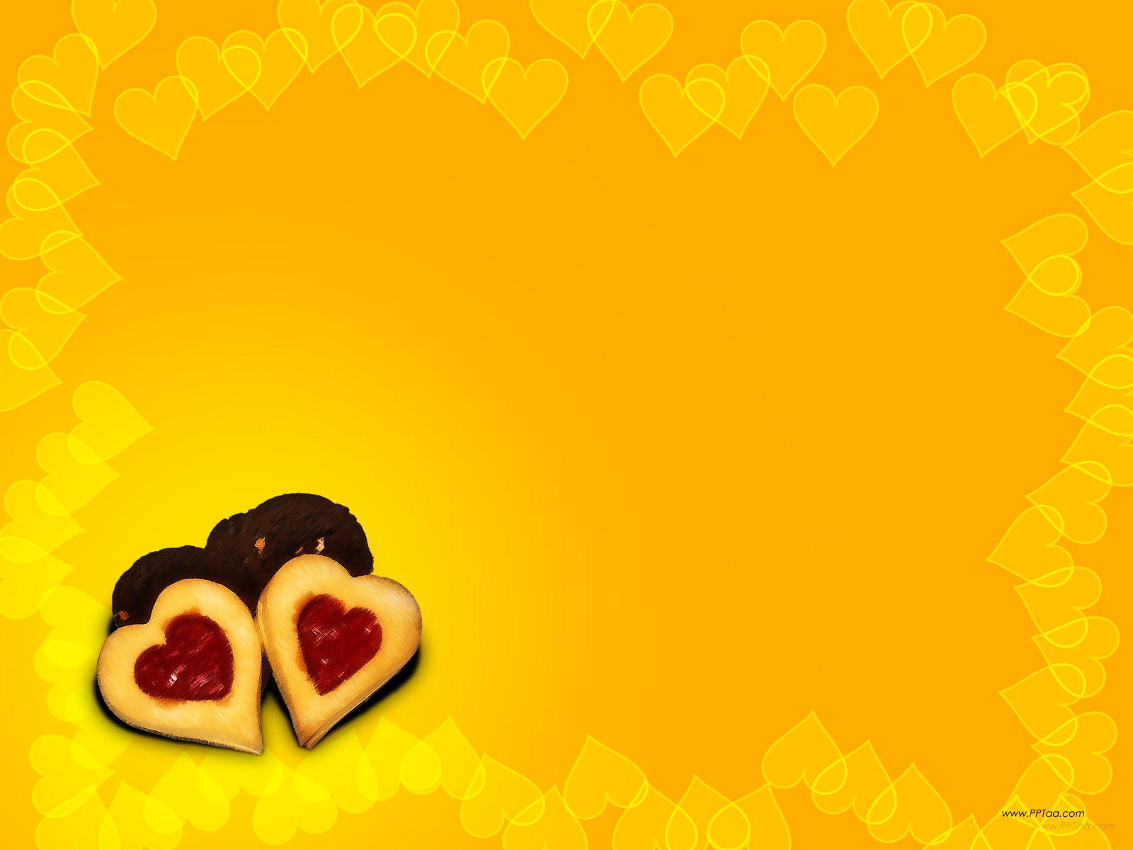 love frame ppt backgrounds 1024x768 resolutions love
