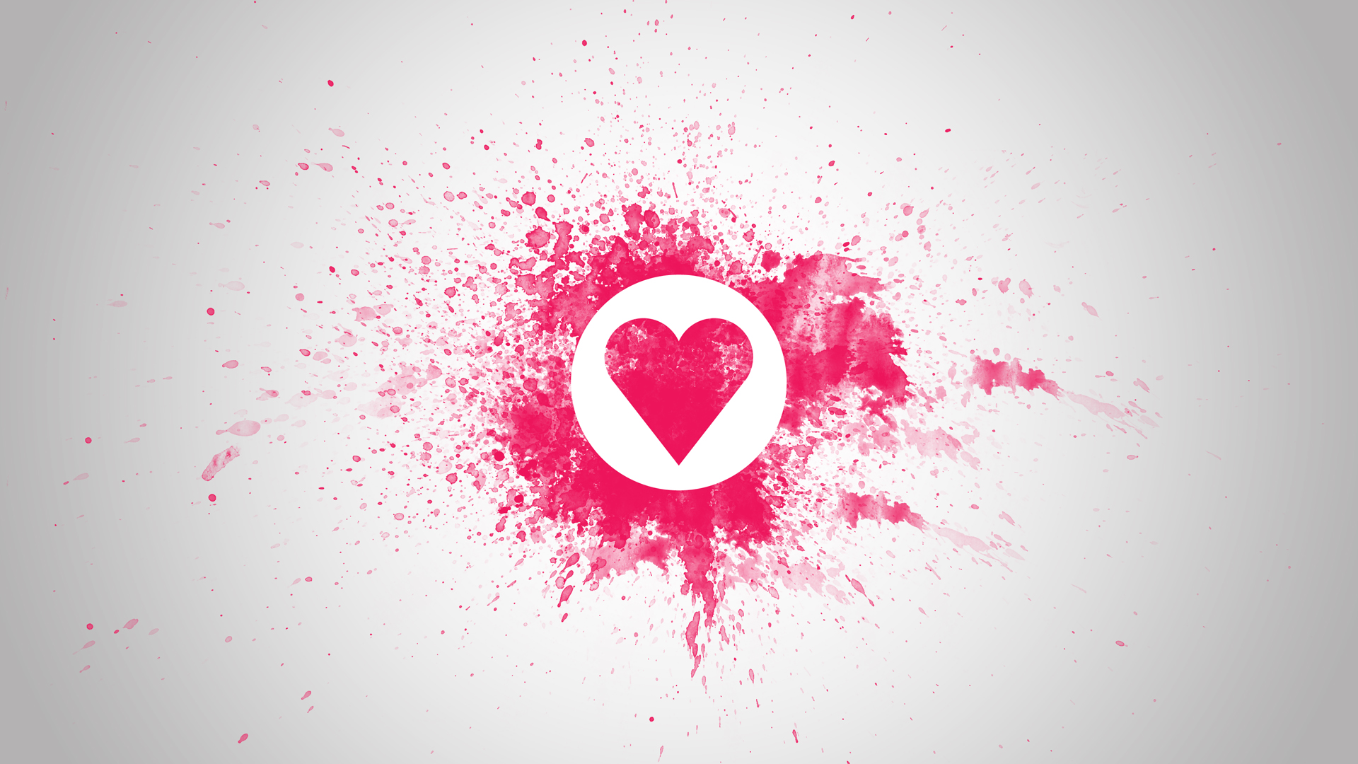 Love Heart PPT Background Background for Powerpoint Program