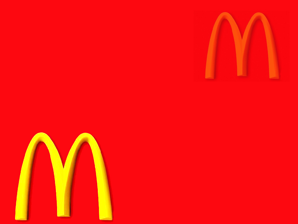 Mcdonalds restaurants, places PPT Backgrounds