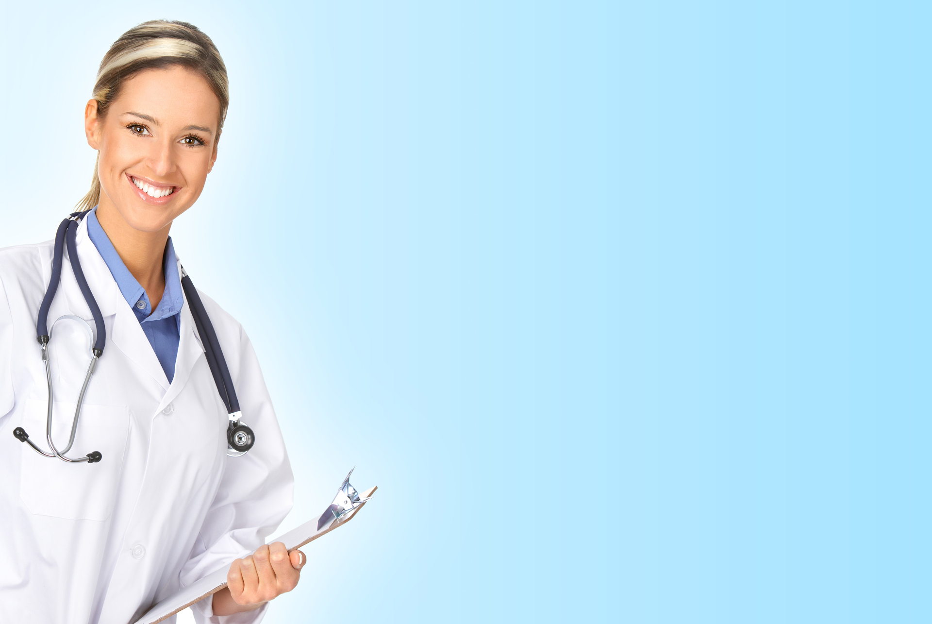 Medical Doctor Woman PPT Backgrounds