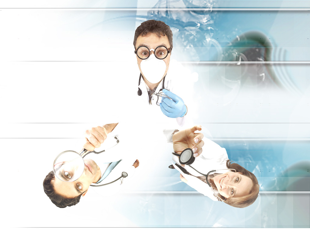 Medical professional personels PPT Backgrounds