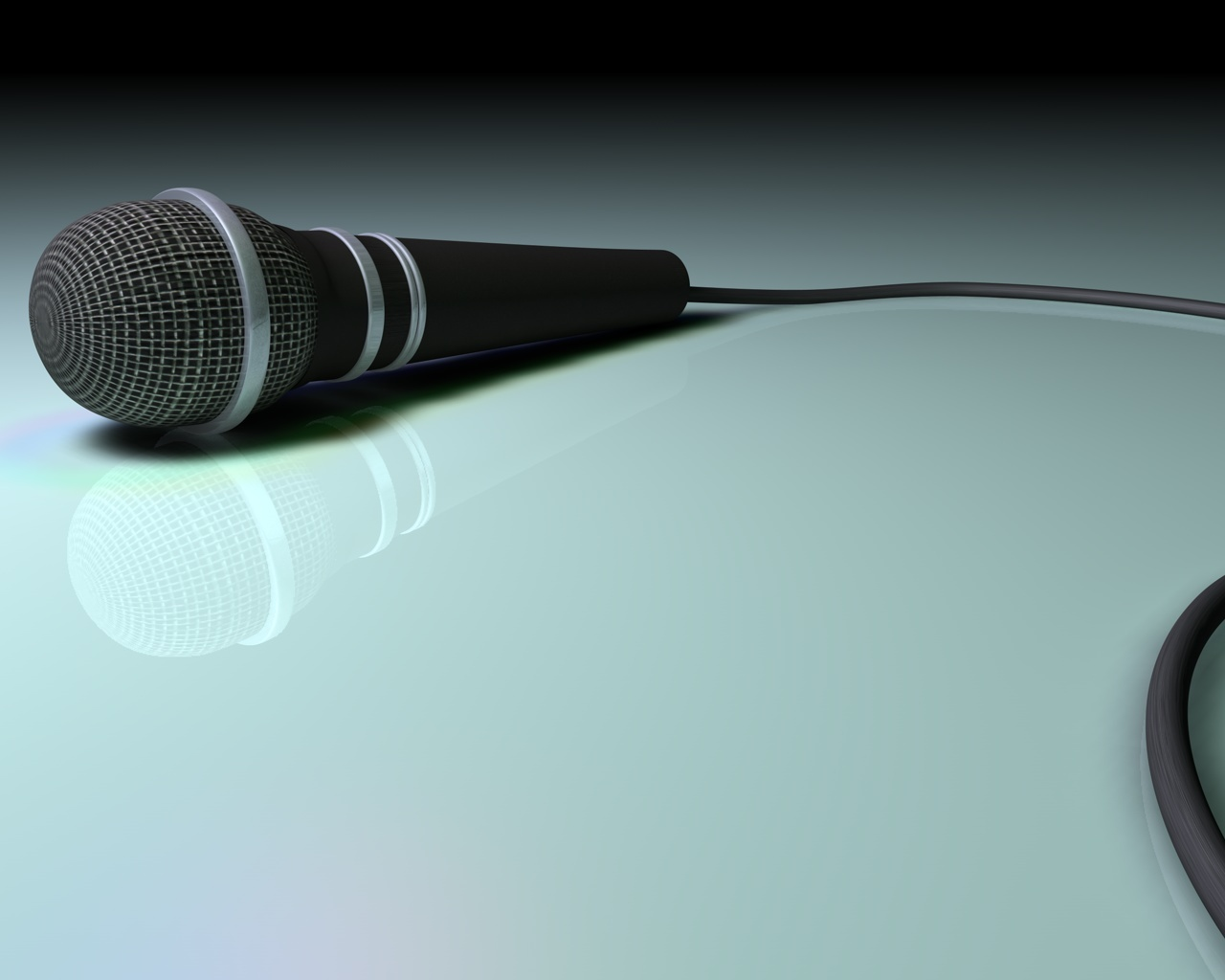 Microphone for Music PPT Backgrounds