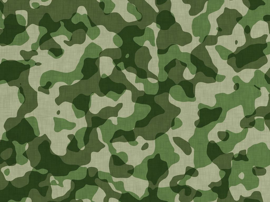 Military Camouflage PPT Backgrounds