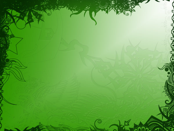 More Green PPT Backgrounds