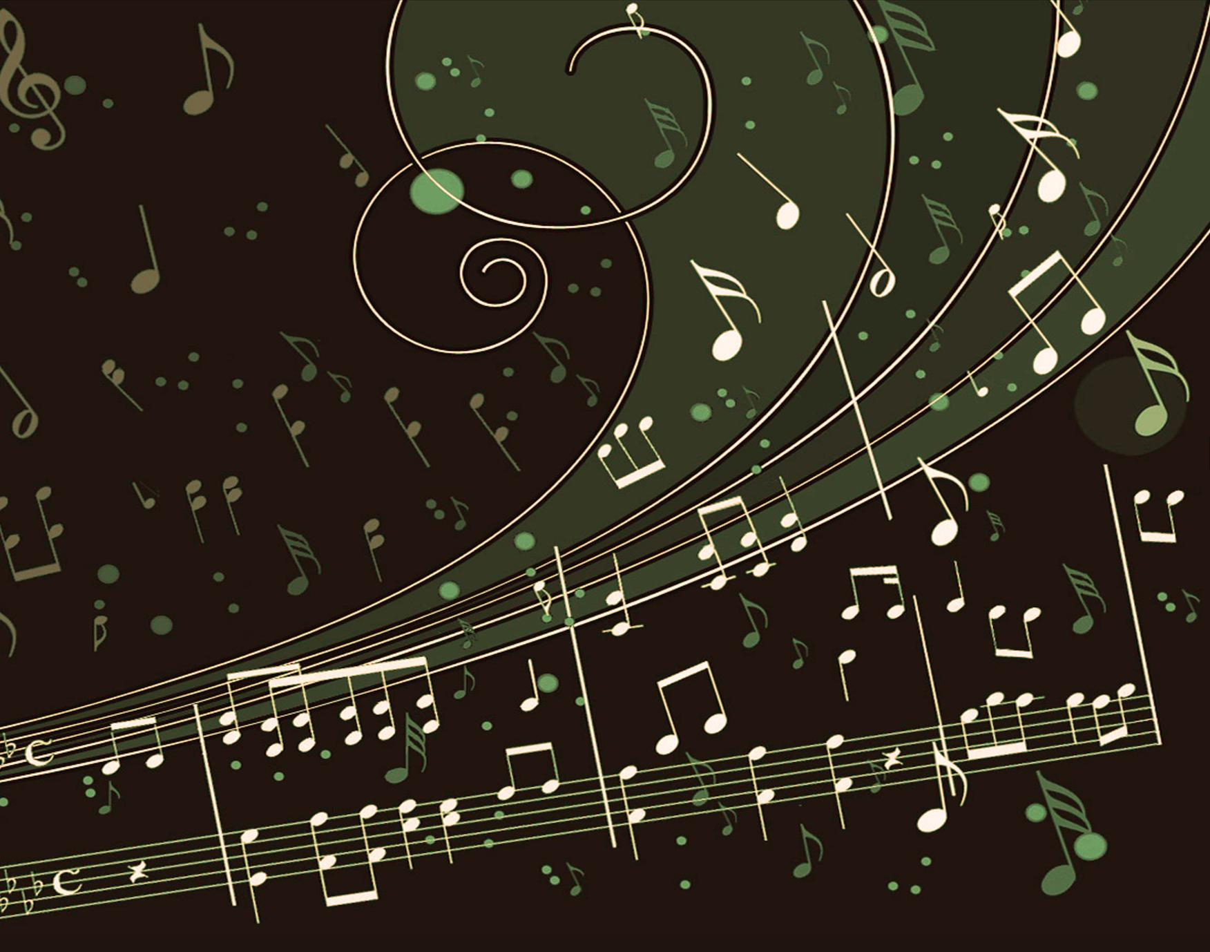 Musical Notes PPT Backgrounds