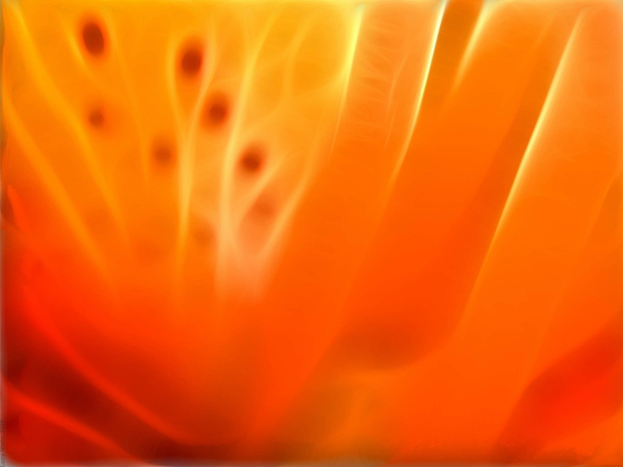 Orange fire abstact PPT Backgrounds