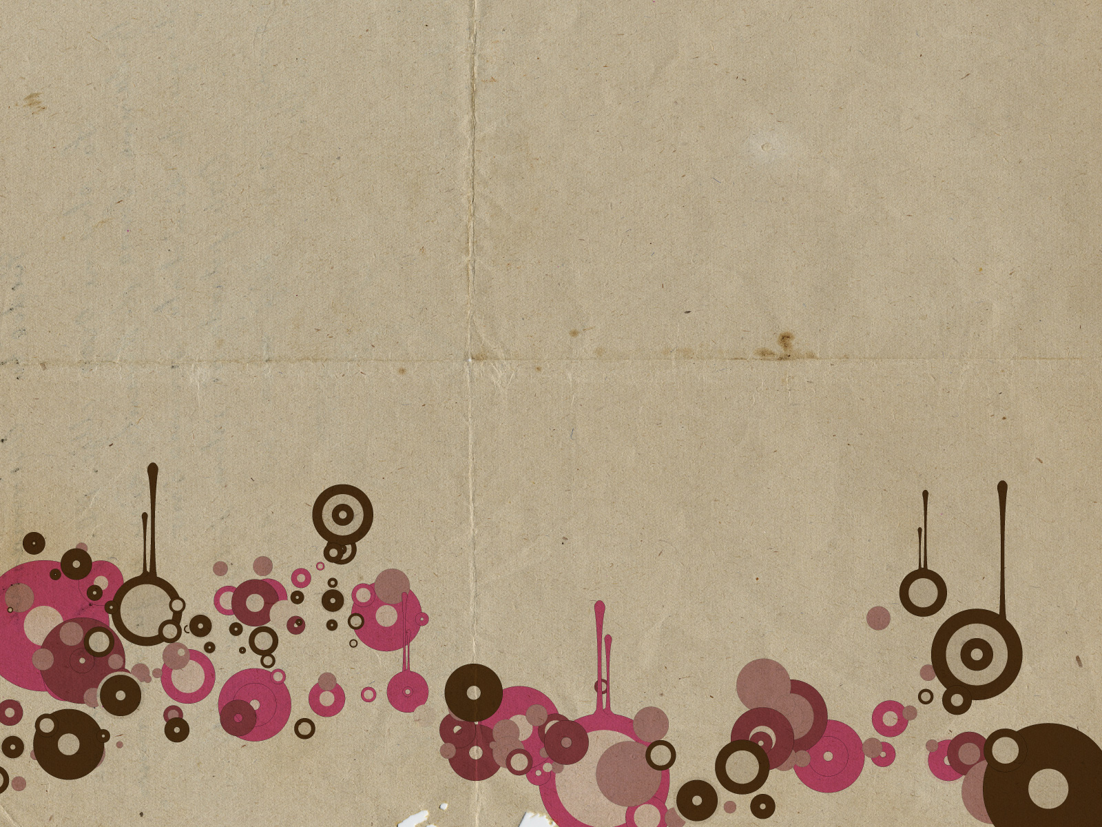 Paper Vintage Circles PPT Backgrounds