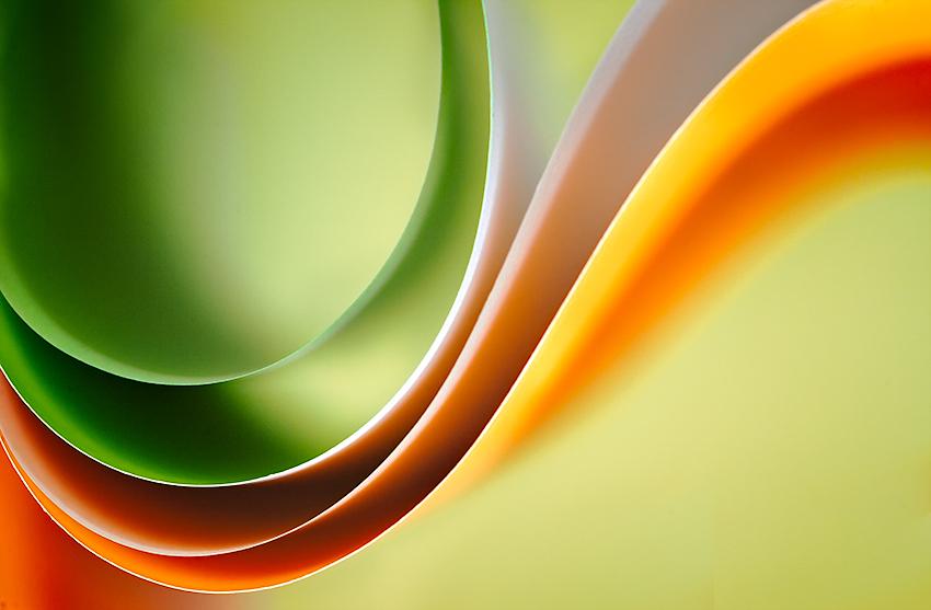 Paper Waveforms PPT Backgrounds