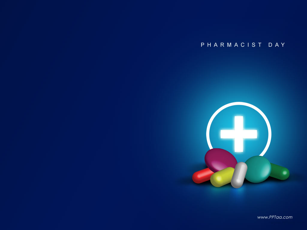 Pharmacist Health PPT Backgrounds
