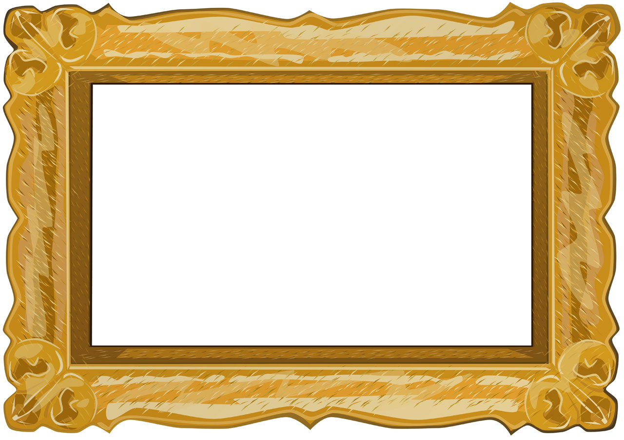Picture Frame PPT Backgrounds