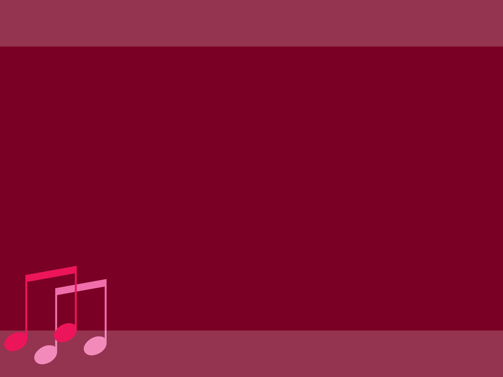 Pink Music PPT Backgrounds