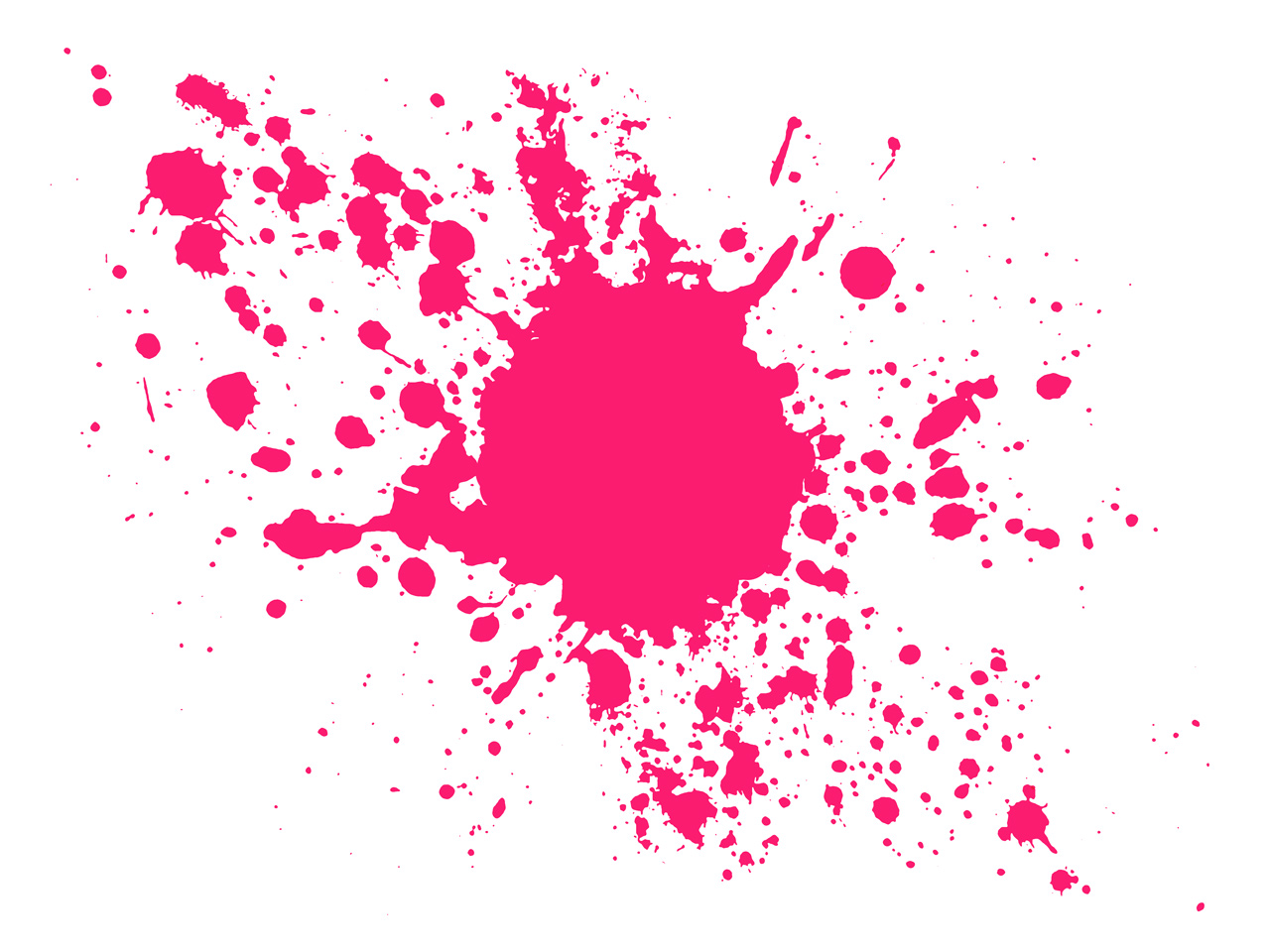 Pink Splash PPT Backgrounds