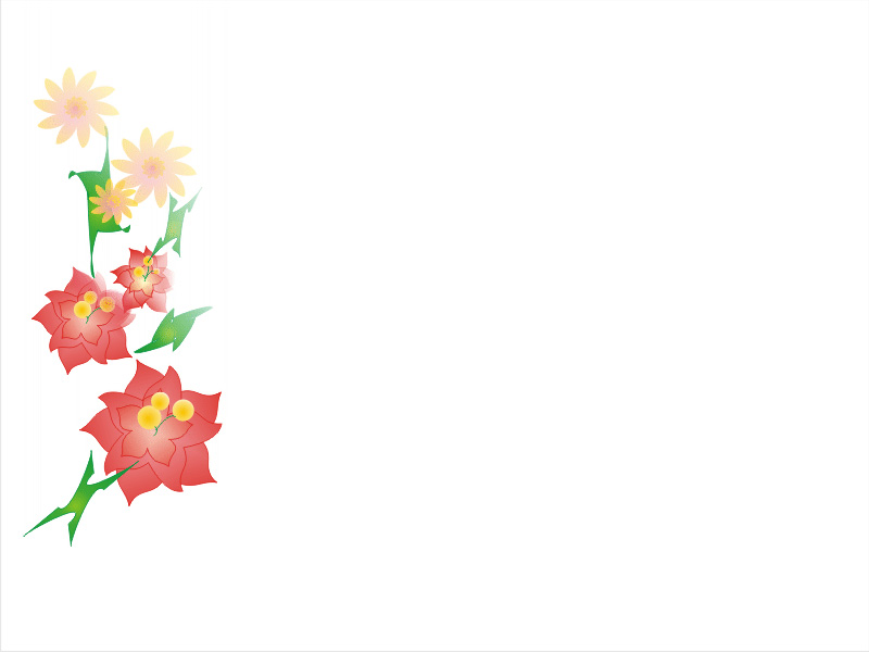ppt 4 flower ppt backgrounds, ppt 4 flower ppt photos, ppt 4, Powerpoint templates