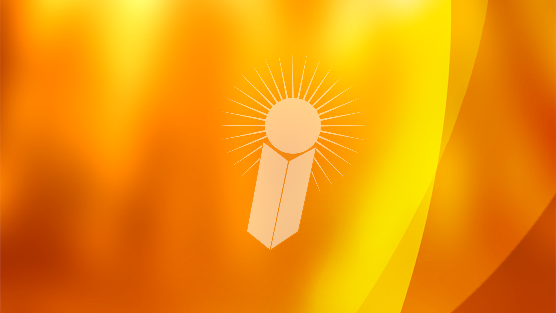 School Orange PPT Backgrounds