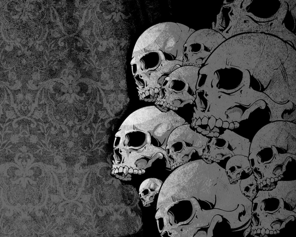 Skulls PPT Backgrounds