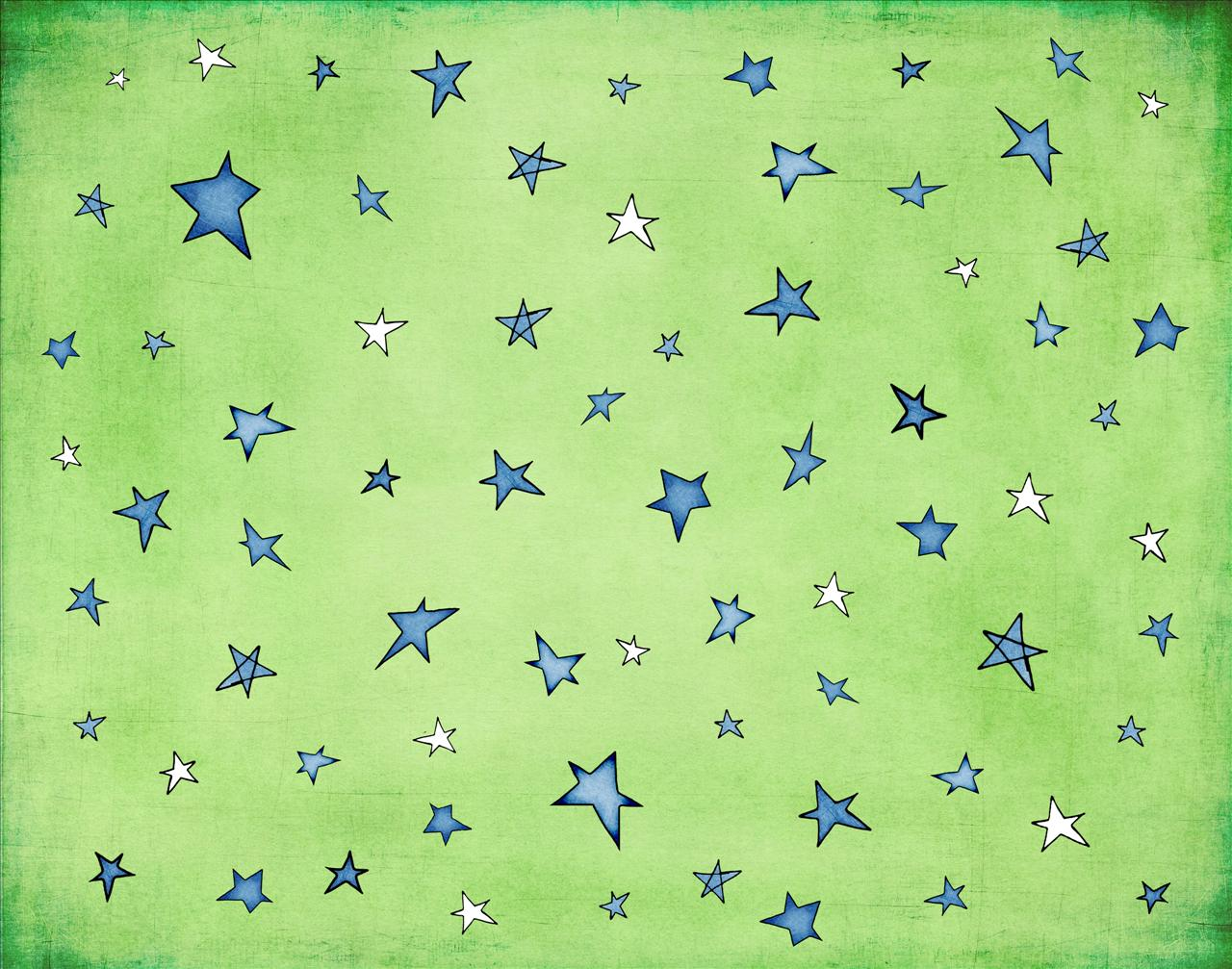 Special Children Stars PPT Backgrounds