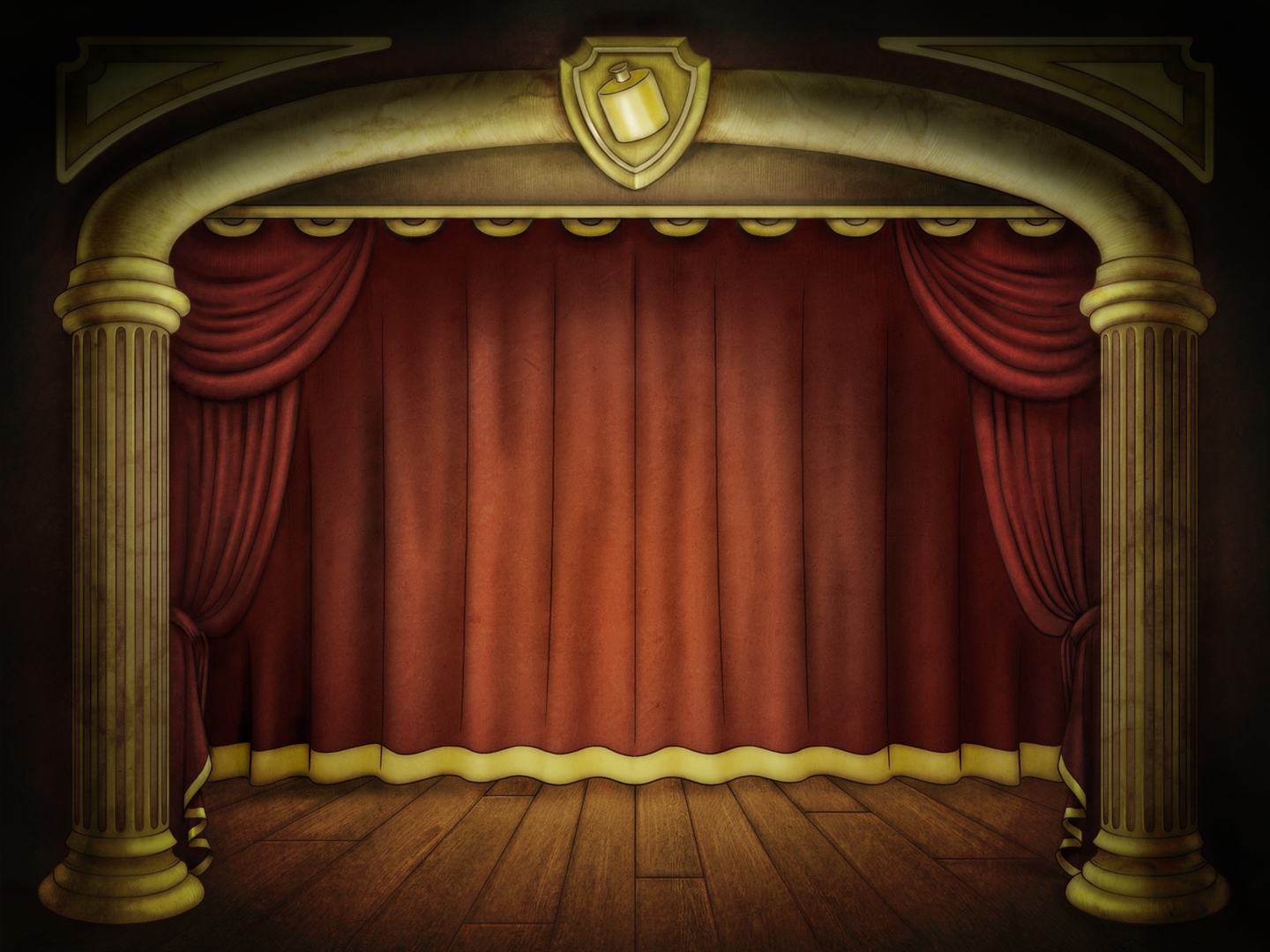 Stage Powerpoint PPT Backgrounds