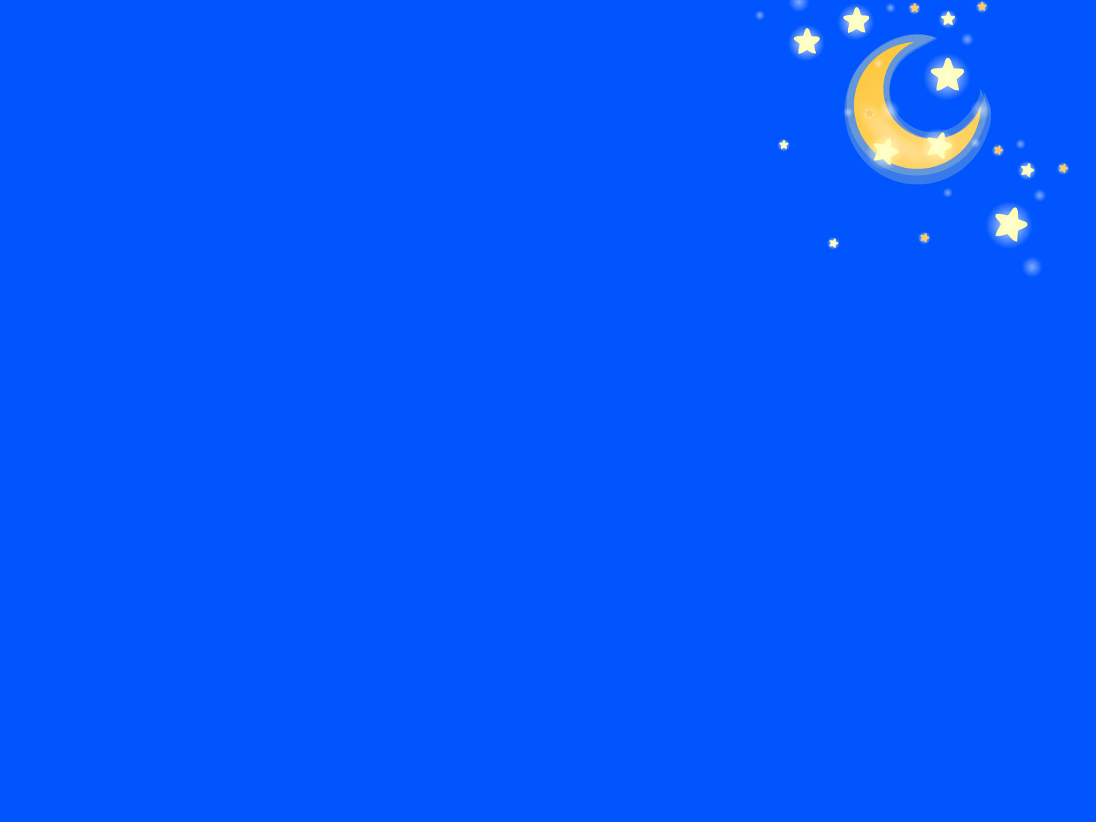 Stars Moon PPT Backgrounds