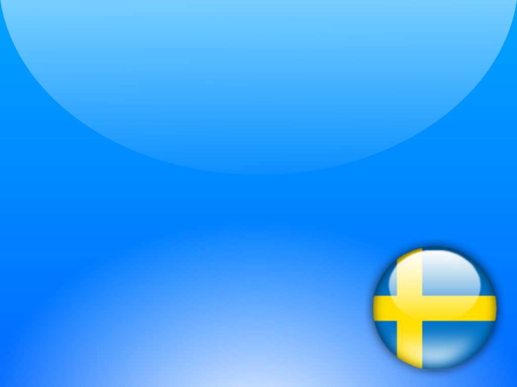 Sweden Flag PPT Backgrounds