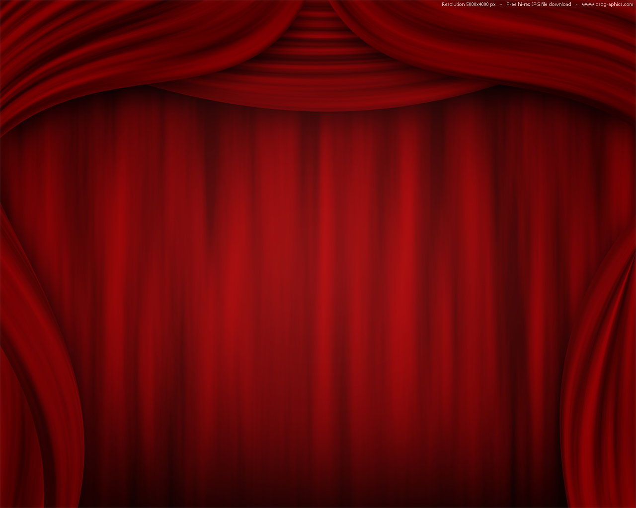 Theater Curtain PPT Backgrounds