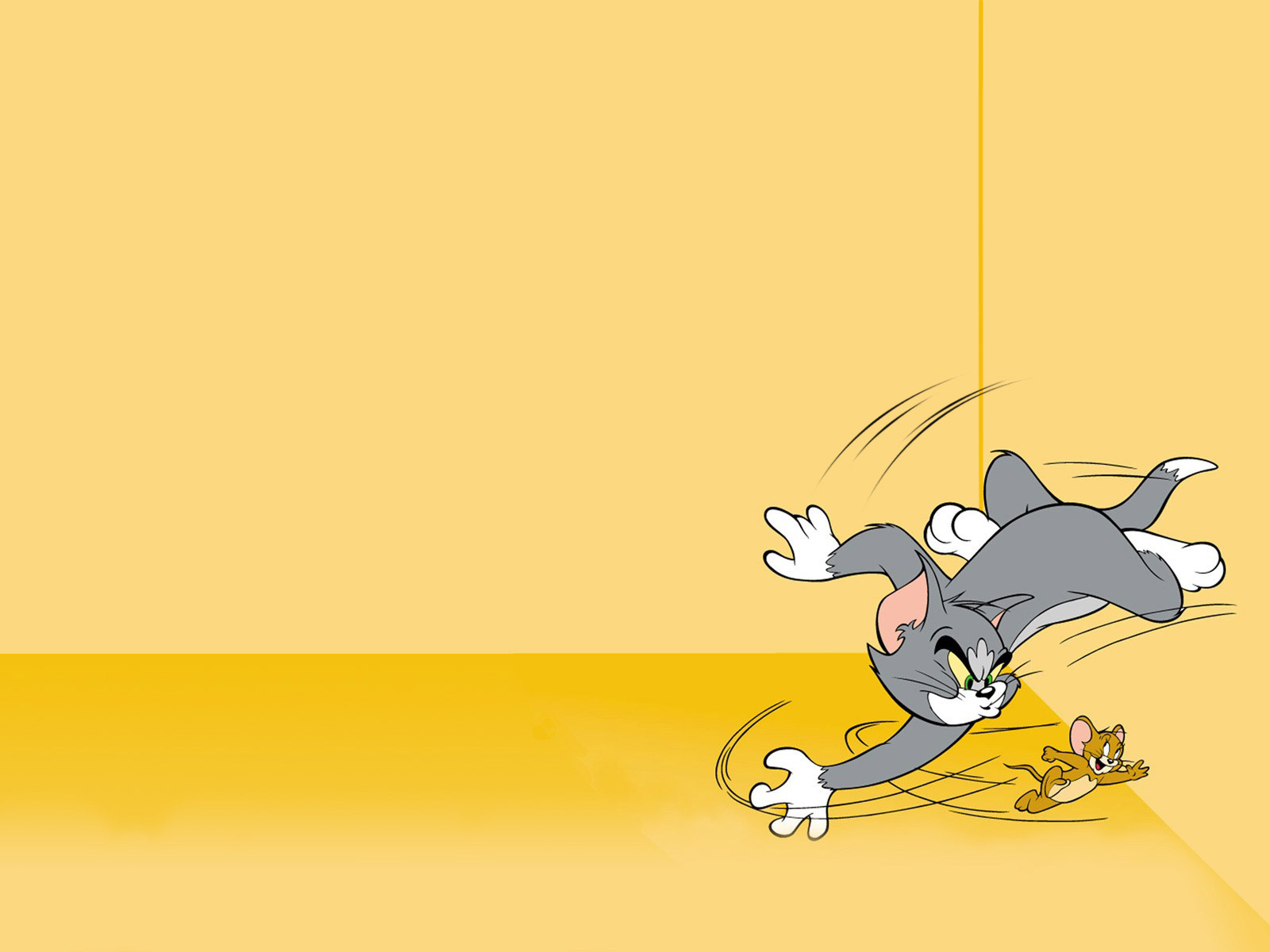 Free Tom and Jerry Cartoon Background for Powerpoint Slides