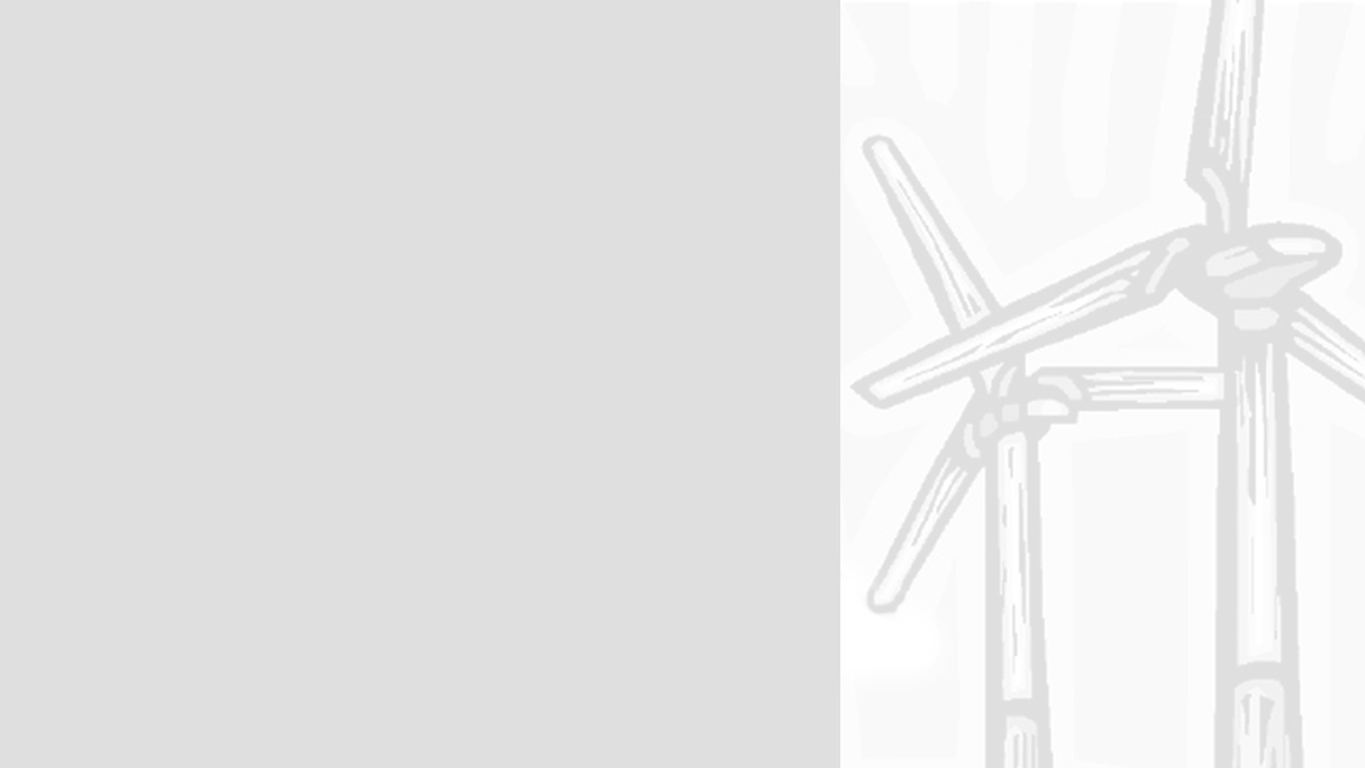 Turbines Grey PPT Backgrounds