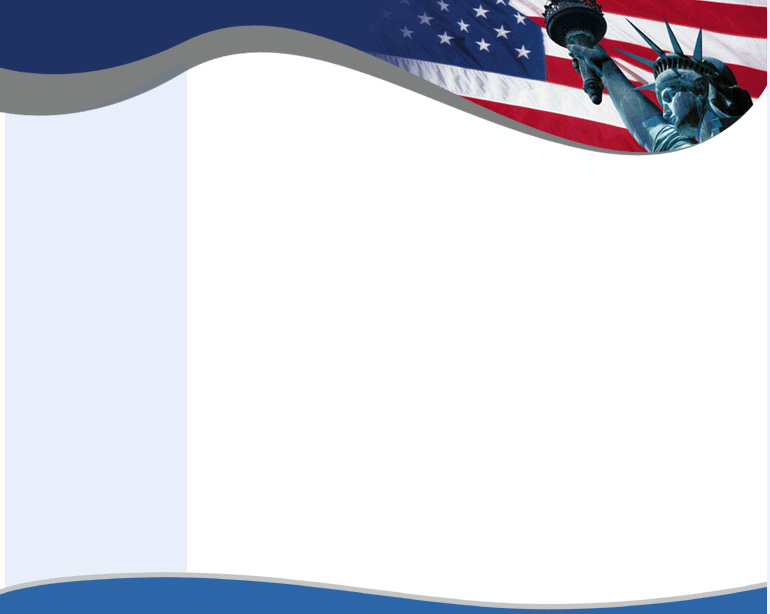USA Flag  PPT Background Background for Powerpoint Program