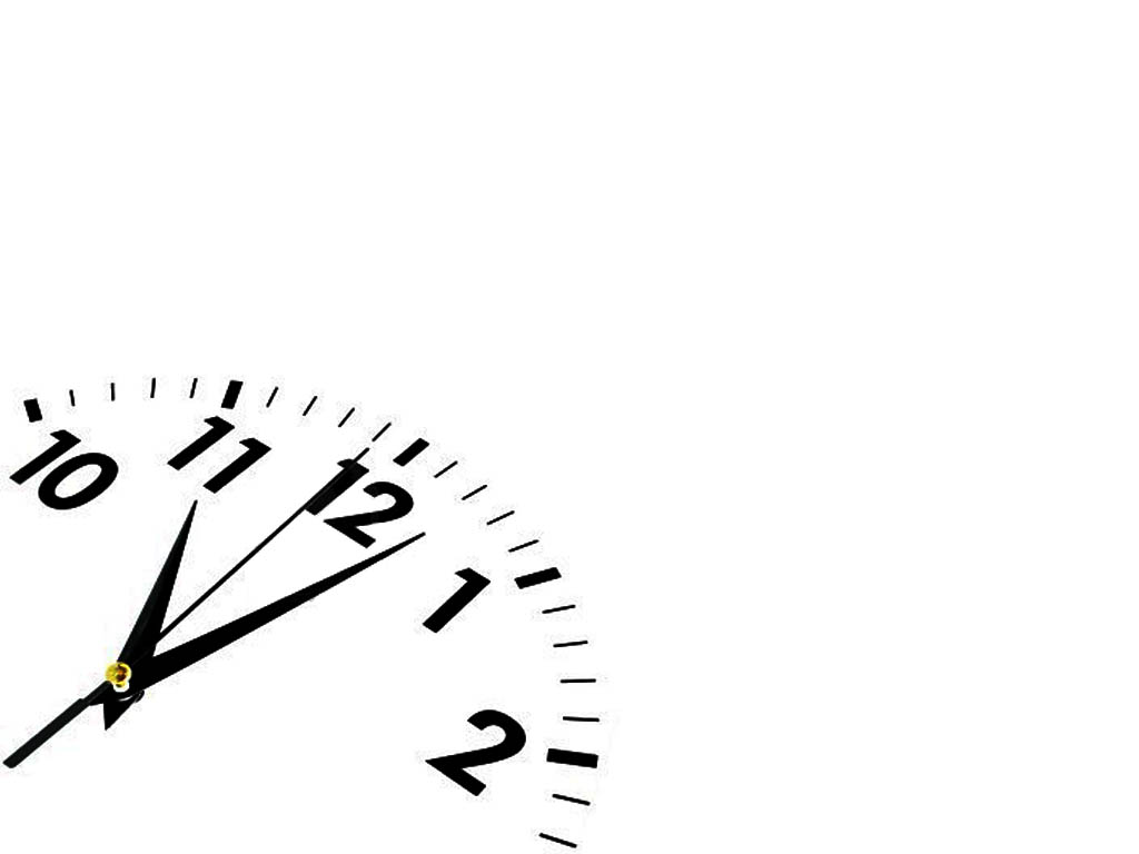 Watch clock PPT Backgrounds