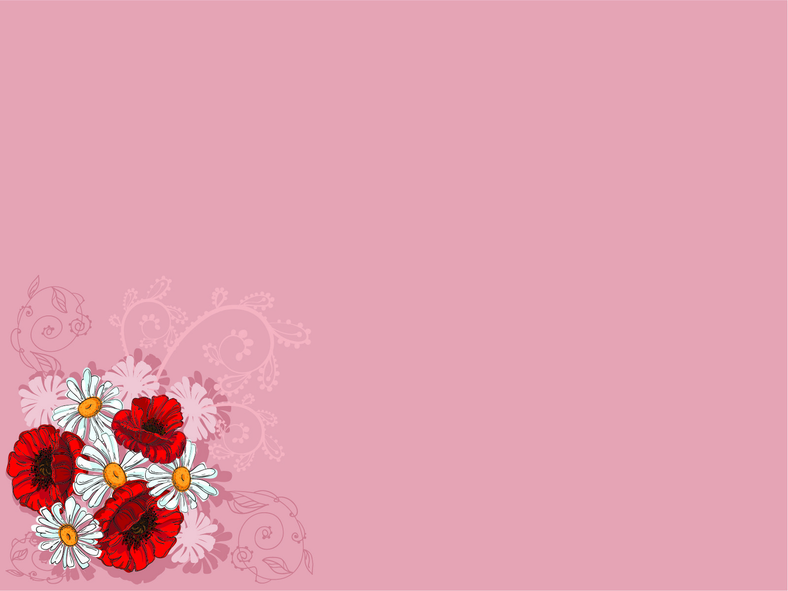 Wildflowers PPT Backgrounds