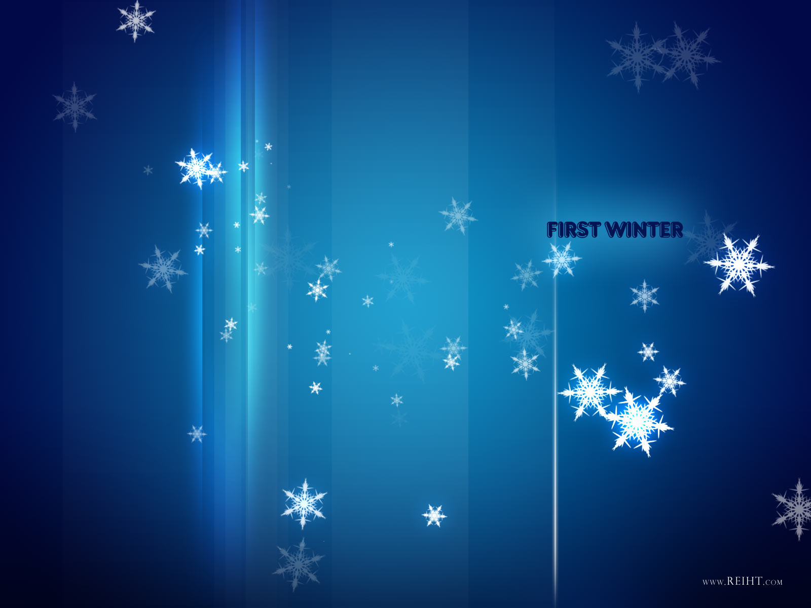 Free Winter Day Background for Powerpoint Slides