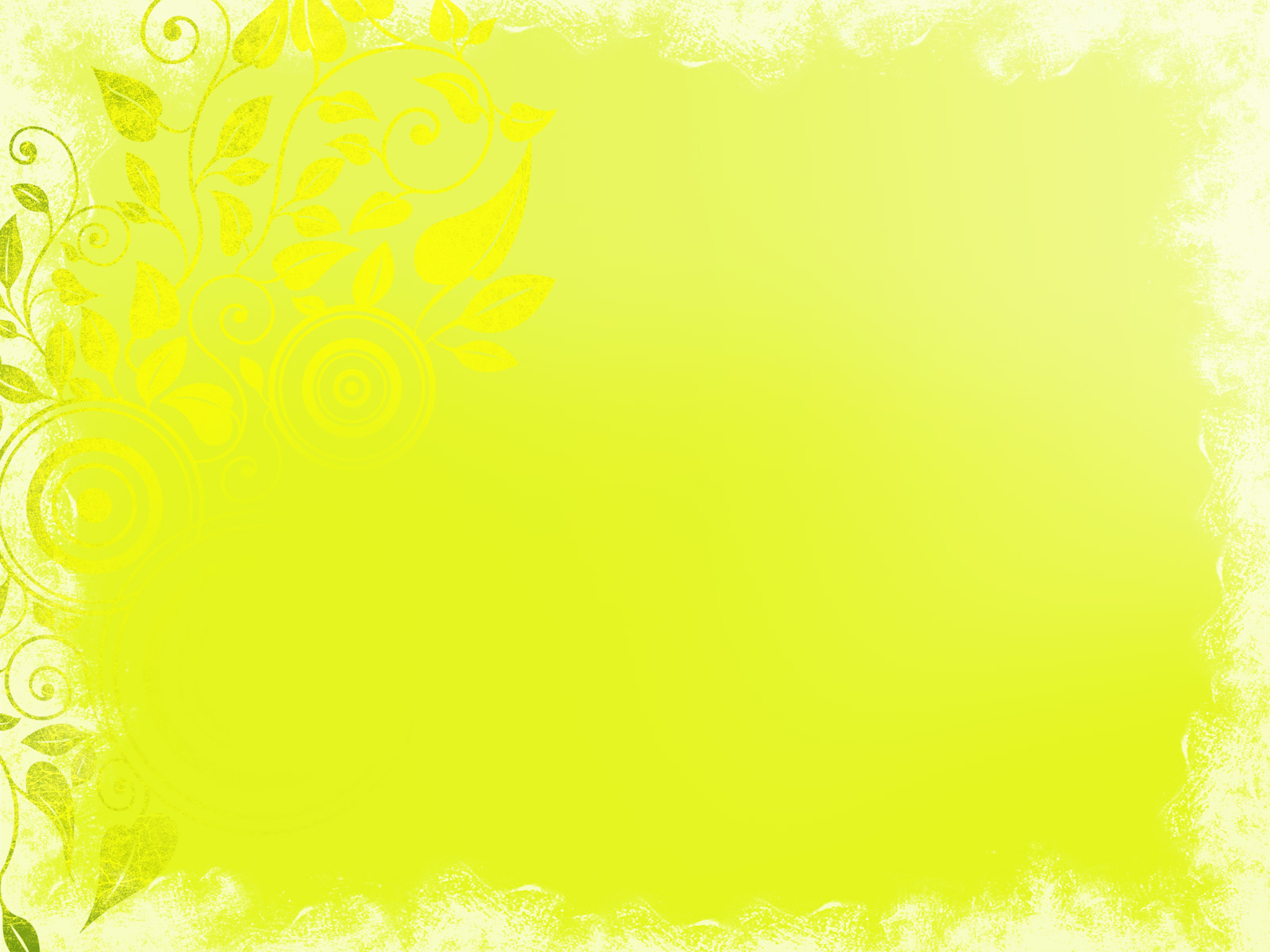 Yellow Ornament PPT Backgrounds
