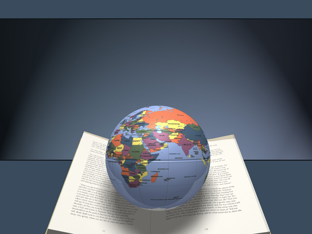Read book global slides PPT templates