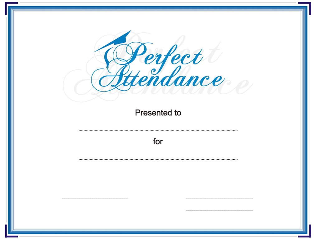 Perfect attendance powerpoint templates for powerpoint perfect attendance powerpoint template yadclub Images