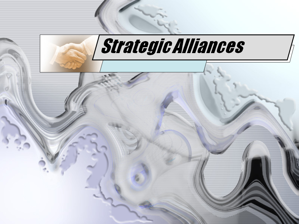 Strategic alliances design PPT templates