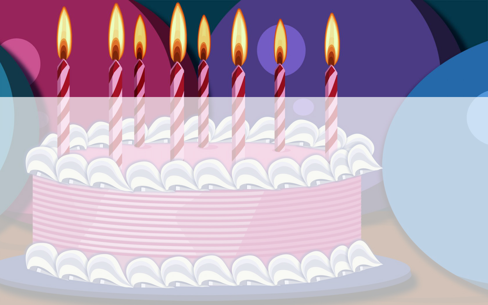 Birthday Cake PPT templates