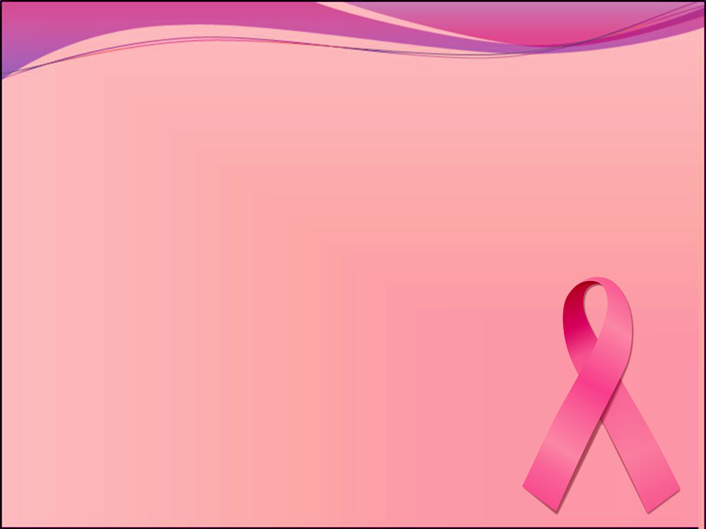 Free Breast Cancer  PPT Template Template for Powerpoint Program