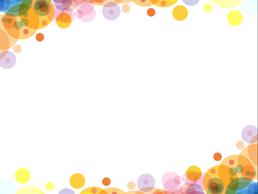 Bubbles colourful design PPT templates