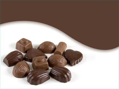 Chocolate Sweets PPT templates