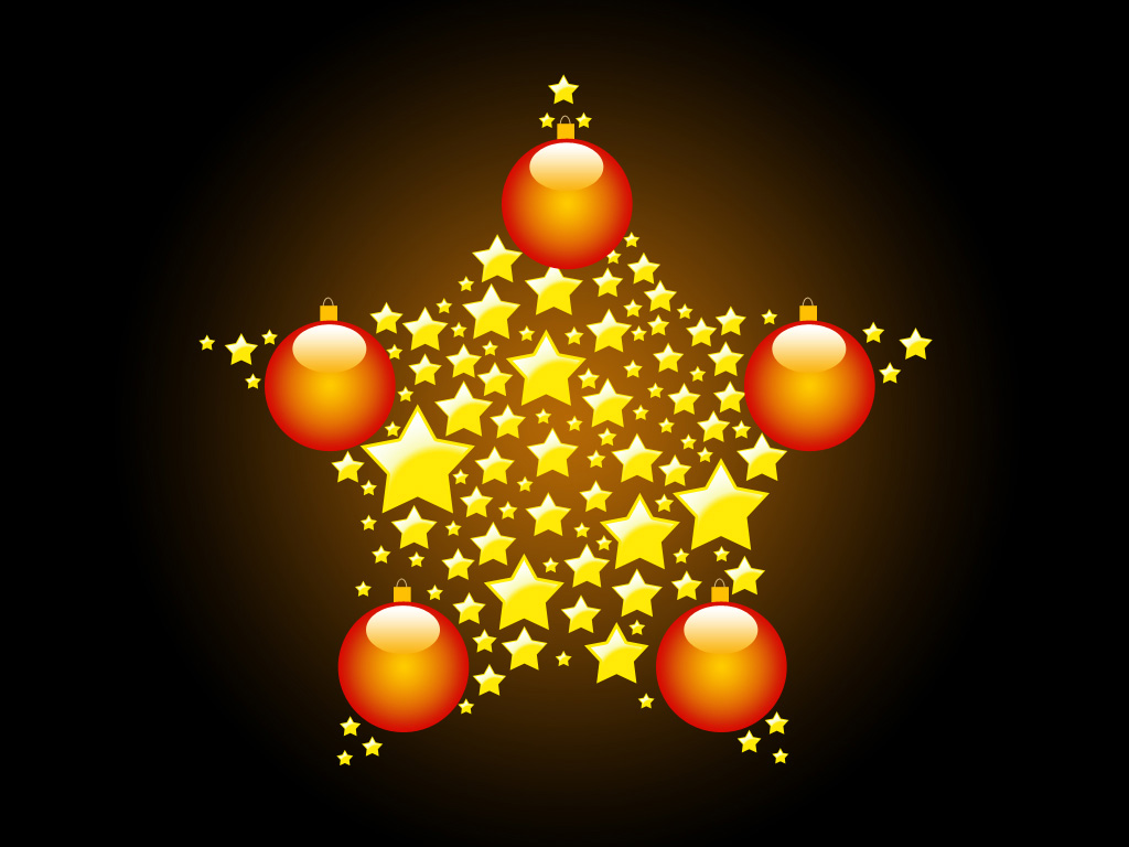 Christmas Stars PPT templates