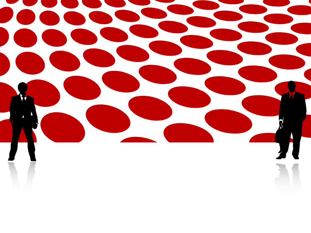 Dotted red abstract market templates for powerpoint presentations dotted red abstract market ppt templates alramifo Choice Image