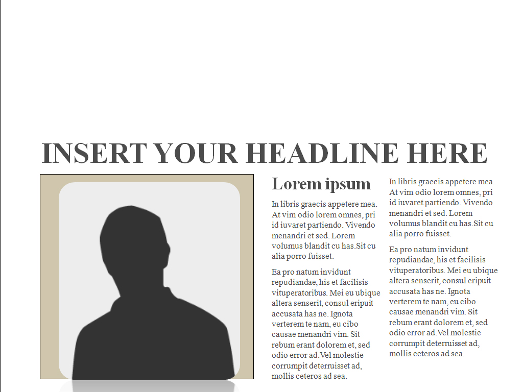 Editable Newspaper PPT templates