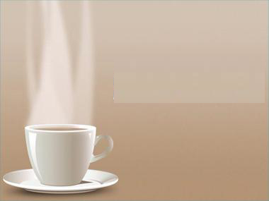 Hot Cup Coffee PPT templates