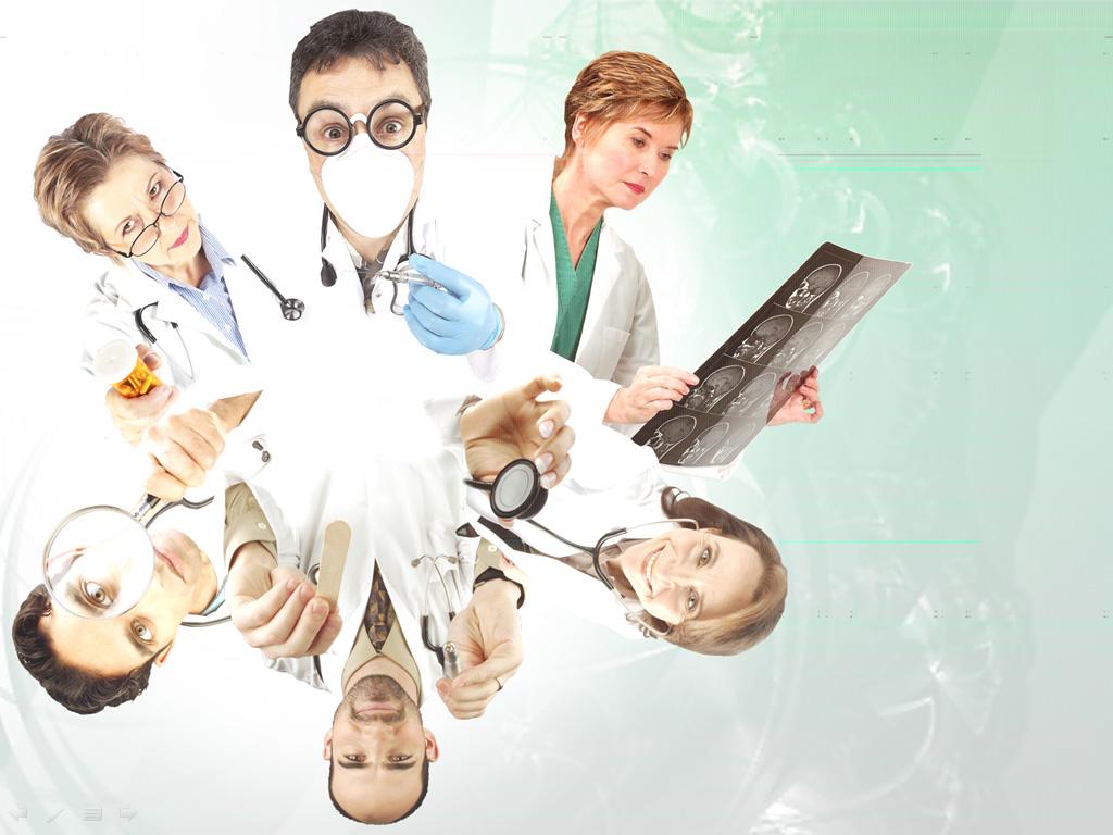 Medical professionals slide PPT templates