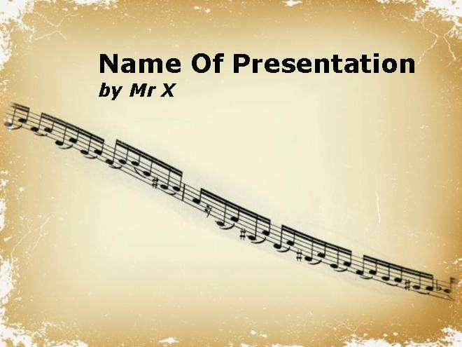 Music Lessons Ppt Templates, Mus C Lessons Free Ppt - Free Ppt