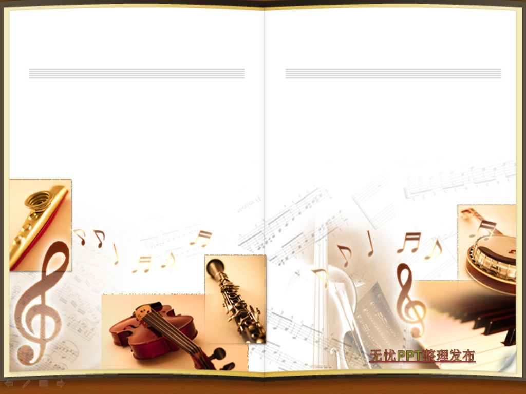 Musical instruments PPT templates